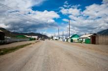 Село Мугур-Аксы в Тыве