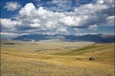 Село Хандахайды в Тыве