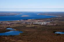 Река Хатанга в Красноярском крае