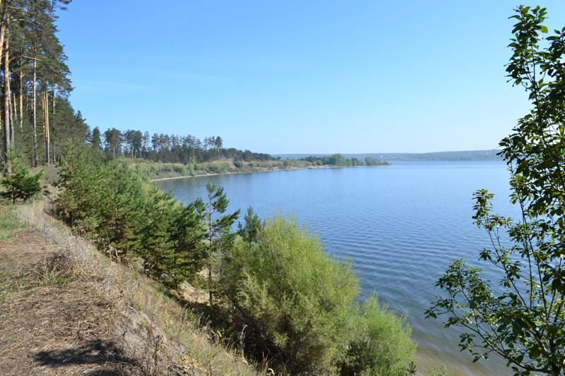 Берега новосибирского водохранилища