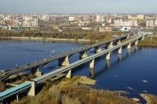 Новосибирский метромост — самый длинный метромост в мире.