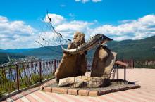 Памятник «Царь-рыба» в Красноярском крае