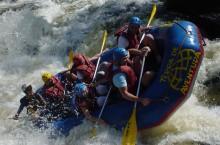 На реке Кумир в Алтайском крае, прошел фестиваль сплавщиков «Кумир-2015»