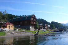 Усадьба «У озера» в Турочакском районе