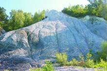 Синий Камень на левобережье Томи