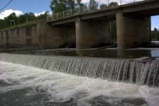 Река Суенга – красивая река на которой есть золото.