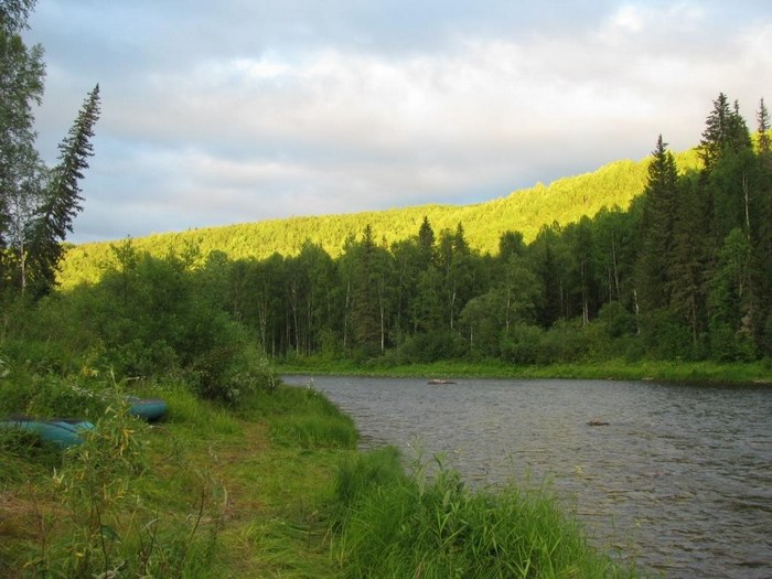 реки Енисейского кряжа