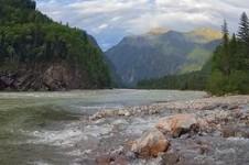 Река Китой в Иркутской области и Бурятии