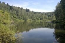 Озера Большой и Малый Базыры