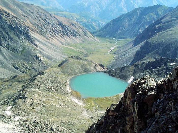 озеро эхой летом