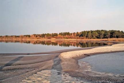 Горькое озеро в егорьесвском районе