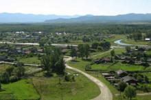 Поселок Танзыбей Красноярского края
