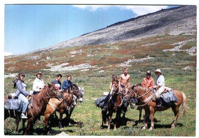 На конях по Горному Алтаю