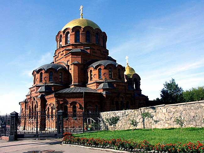 Собор Александра Невского город Новосибирск