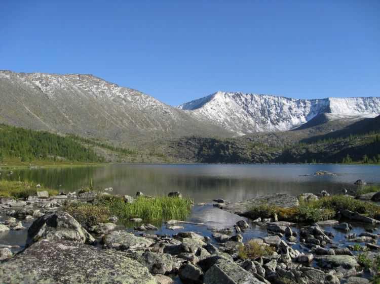 Стоктышские озера в Хакасии