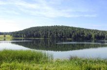 Песчаное озеро в Бурлинском районе