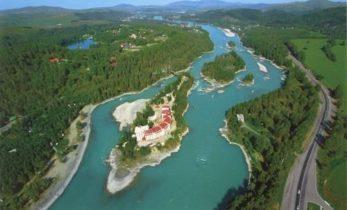 Остров «Седло Сартакпая» в Горном Алтае