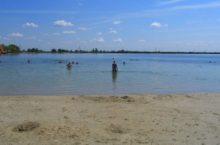 Селитренное озеро в Благовещенском районе Алтайского края