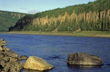 Река Подкаменная Тунгуска в Красноярском крае — река, давшая имя самому известному метеориту