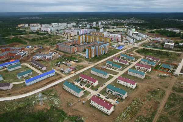 Вид на город Кодинск