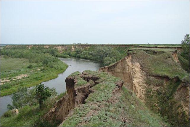 Река Алей в Алтайском крае