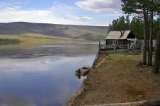 Река Нижняя Тунгуска в Иркутской области