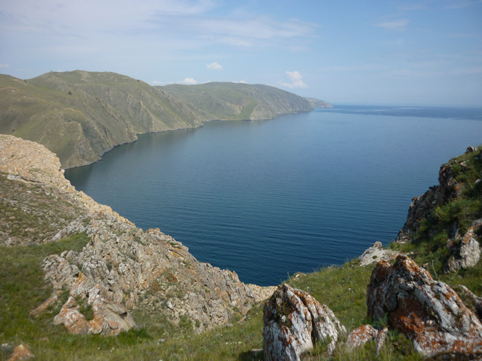 Залив Ая на Байкале