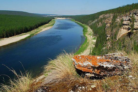 Якутская река