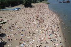Центральный пляж Новосибирска