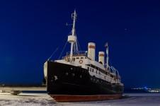 Ледокол «Ангара» в Иркутске