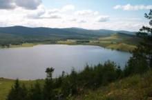 Озеро Сарбаголь в Красноярском крае