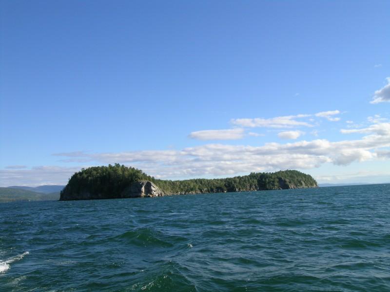 на ушканьих островах