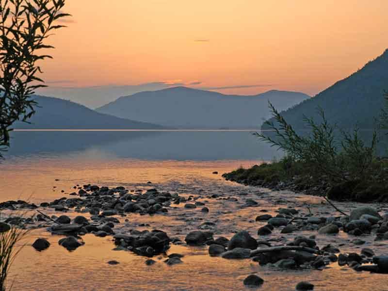 На озере Фролиха
