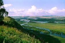 Река Туба в Красноярском крае