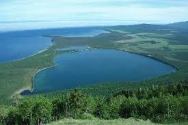 Слюдянские озера в Бурятии