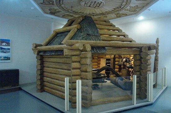 В горно-алтайском музее