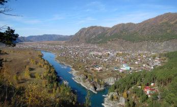 Село Чемал – туристический центр Горного Алтая