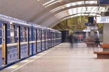 Выставка в Новосибирском метрополитене.