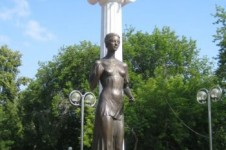 Памятник Святой Татьяне в Томске