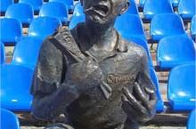 Памятник болельщику в Томске