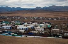 Поселок городского типа Аскиз в Хакасии