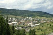 Поселок Вершина Теи в Хакасии
