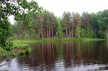 Озеро Монастырское в Красноярском крае
