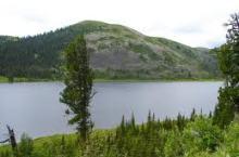 Озеро Абакшинское в Красноярском крае