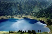 Озеро Ойское в Красноярском крае