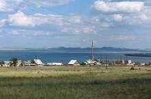 Поселок Жемчужный в Хакасии