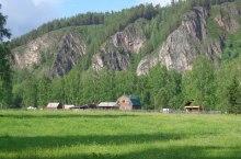Поселок Малый Анзас в Хакасии