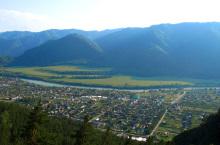 Чемал – районный центр Чемальского района Горного Алтая