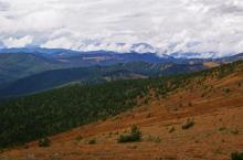 Айгулакский хребет в Горном Алтае