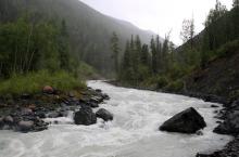 Река Аккем в Горном Алтае.